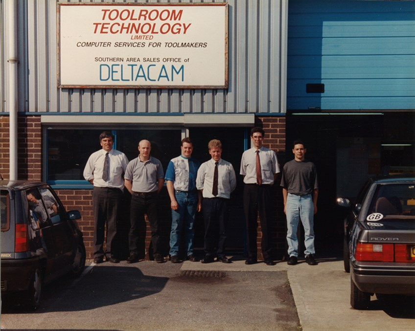 TTL's team over 25 years ago.