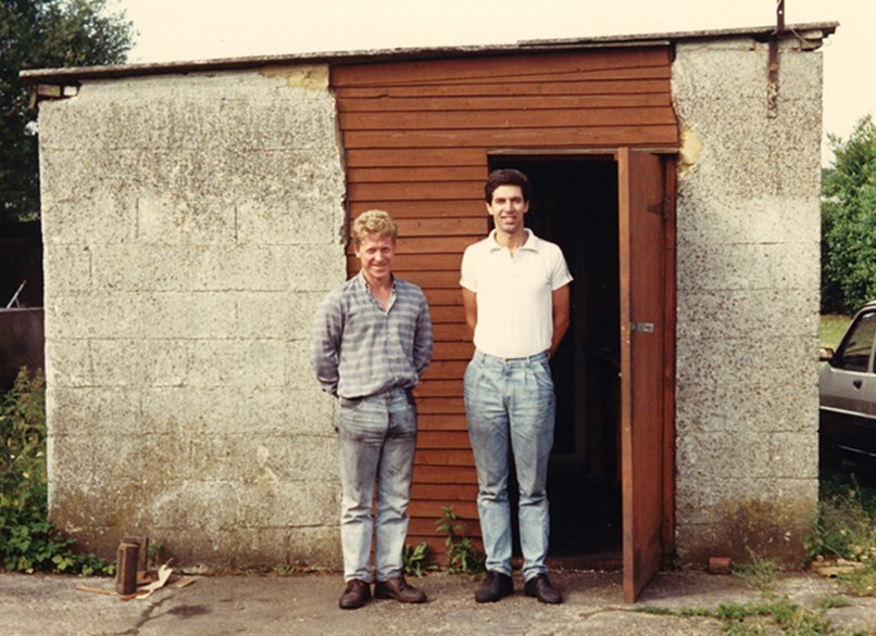 Ben Dix & Paul Walton at The Shed